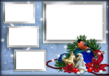 Kostenlose gru karten und rahmen zur weihnachten mit ihrem - Marcos para laminas grandes ...